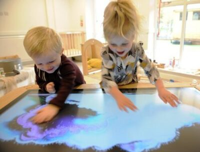 A&A Digital Solutions early learning interactive touchscreen for children